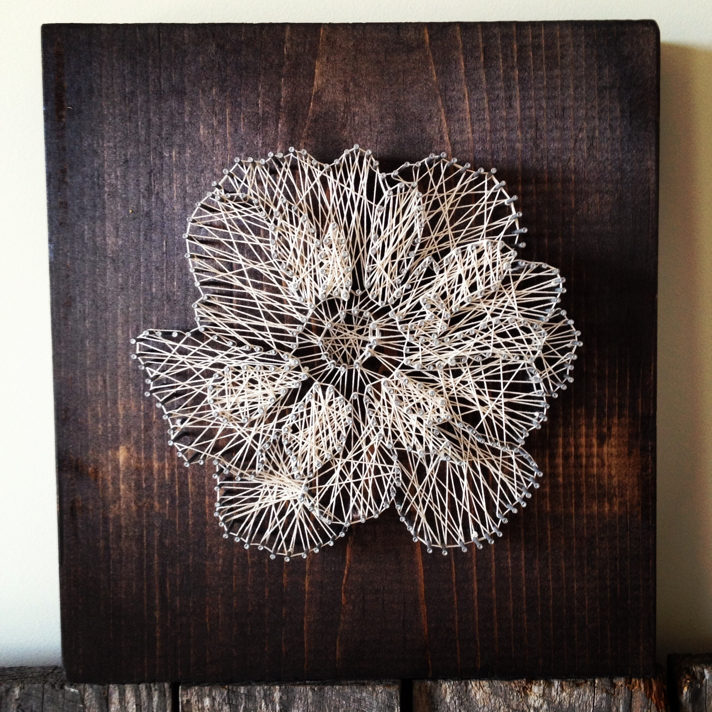 Floral String Art Ramble Roost